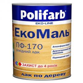 Лак для дерева и металла ЭкоМаль POLIFARB ПФ-170