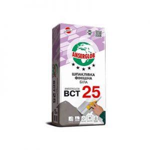 Шпаклевка финишная белая ANSERGLOB BCT 25