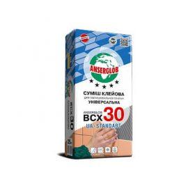 Клей для плитки (кафеля) ANSERGLOB BCX 30