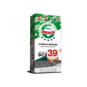 Клей для теплоизоляции ANSERGLOB BCX 39