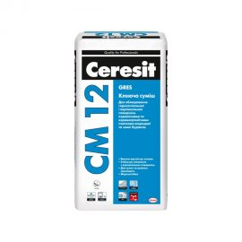 Клеящая смесь для крупной плитки CERESIT CM 12 GRES