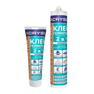 Клей-герметик акриловый LACRYSIL «2 в 1»
