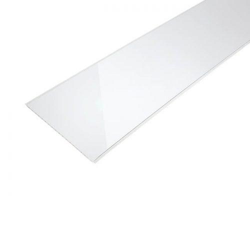 панель ПВХ белый глянец