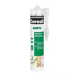 Акриловый герметик белый CERESIT CS 11 Akryl