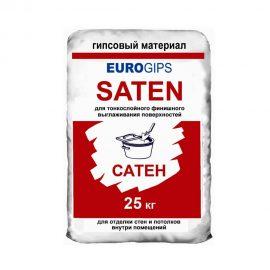 Финишная шпаклевка гипсовая EUROGIPS SATEN