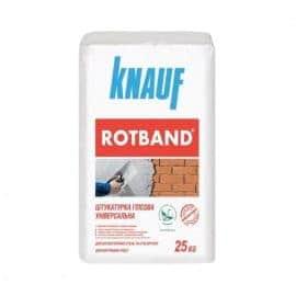 Штукатурка для потолков и стен KNAUF Rotband