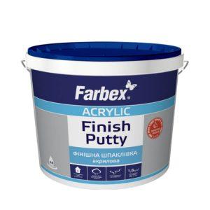 Шпаклёвка финишная акриловая FARBEX