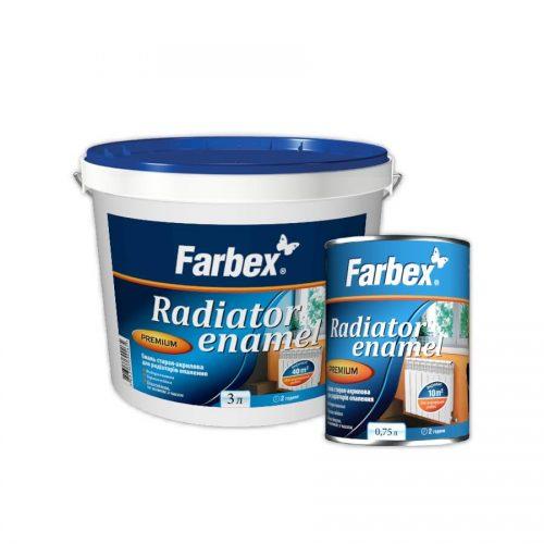 Эмаль акриловая для радиаторов отопления FARBEX