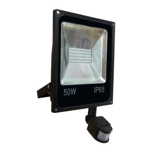 Прожектор светодиодный с датчиком движения RIGHT HAUSEN 4500Lm/50W