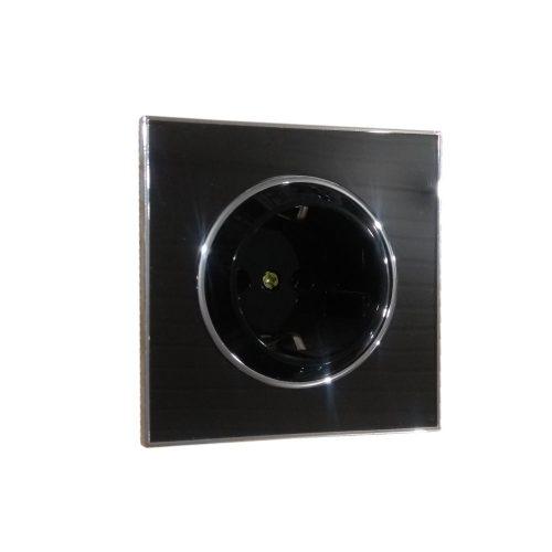 Розетка внутренняя черная ТМ Right Hausen «Laura»