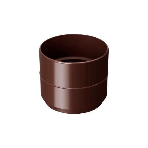 Муфта-соединительная-для-труб-RAINWAY-коричневая
