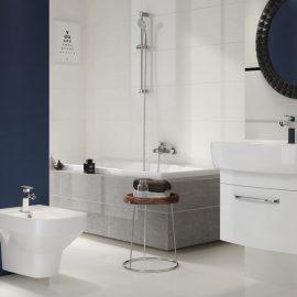 Смеситель для ванны и душа CERSANIT seria VIGO интерьер