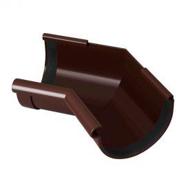 угол желоба внутренний 135° RAINWAY коричневый