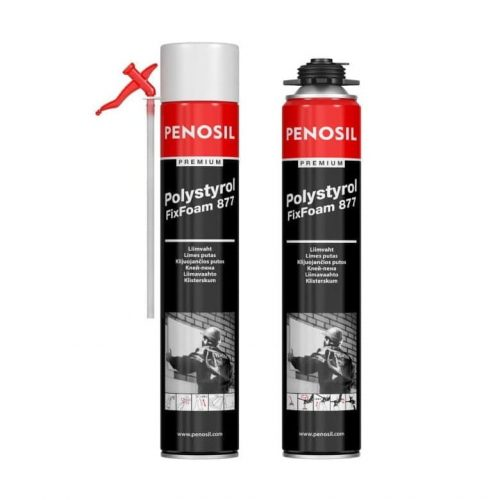 пена PENOSIL Premium Polystyrol FixFoam 877