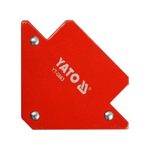 Магнитный угольник для сварки YATO