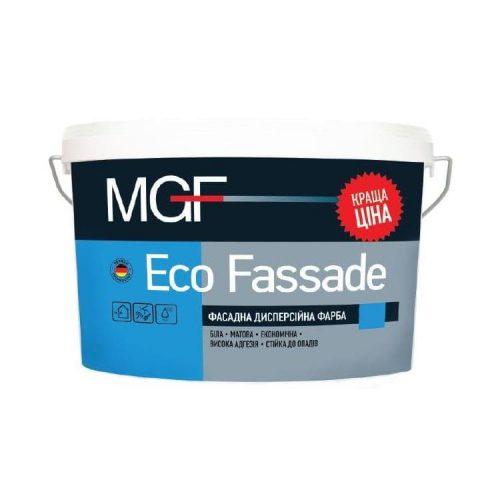 фасадная краска mgf eco fassade