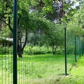 сетка сварная с пвх покрытием заграда классик