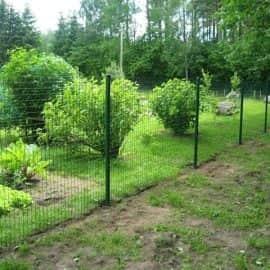 сетка сварная с пвх покрытием заграда премиум