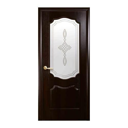 Межкомнатная дверь ВЕНЗЕЛЬ каштан P1