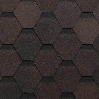 битумная черепица shinglas оптима коричневый