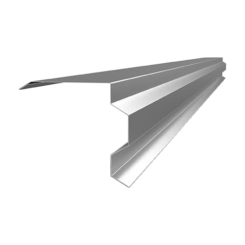 торцевая планка фигурная ral 9006